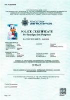 Acro Police Certificate >> Retirement Police Report Page 2 Thai Visas Residency