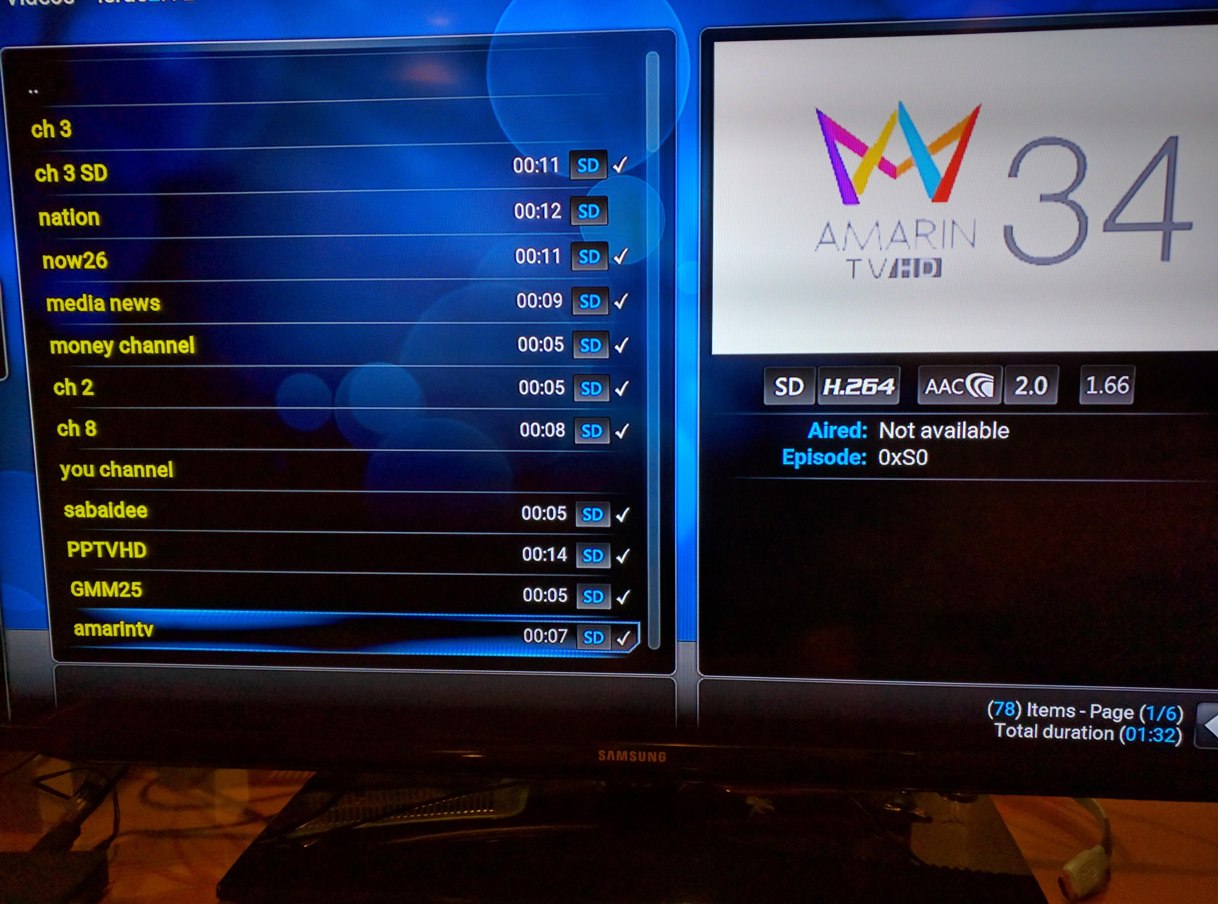 Thai Channels on Kodi Android box - Audio/Visual - Thailand Visa
