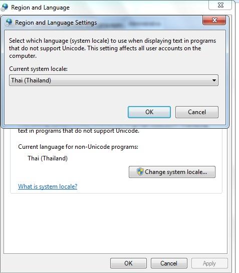 Setting up a Thai keyboard on Windows 7 - Thai language