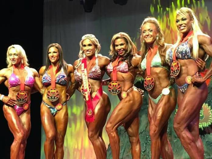 Thai Body Builder Wins Womens Championship In Usa -7002