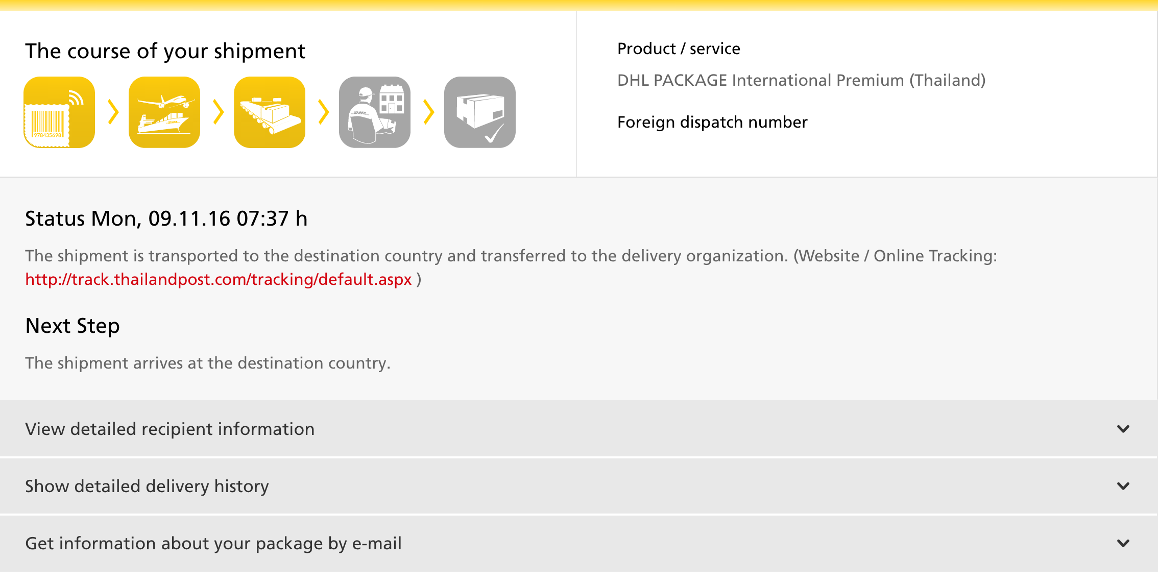 DHL parcel from Germany, how long does it take to re-appear in Thailand -  General topics - Thailand Visa Forum by Thai Visa | The Nation