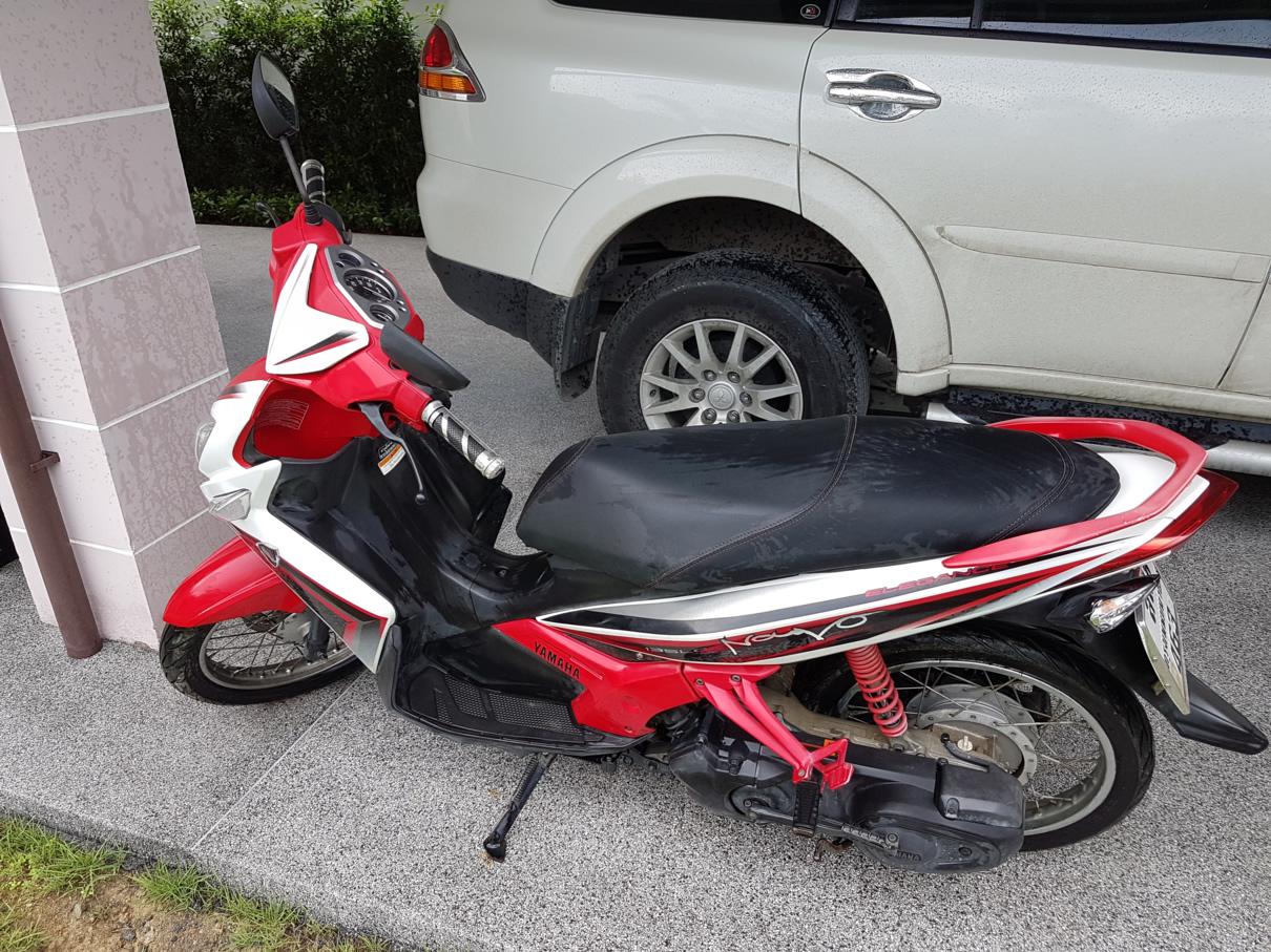 Sale Yamaha Nouvo Elegance 135cc 9xxx Km Pattaya Bikes For Nuvo 20160927 132236
