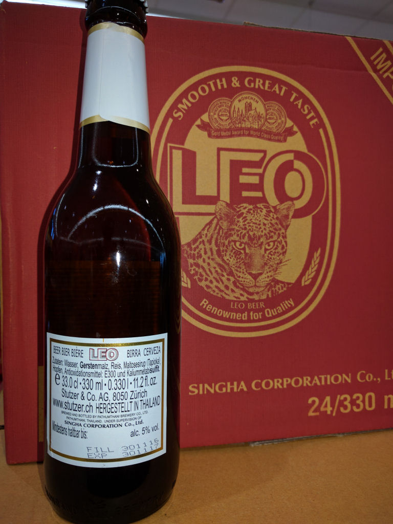 What is in Leo beer? - Farang Pub - fun, entertainment and