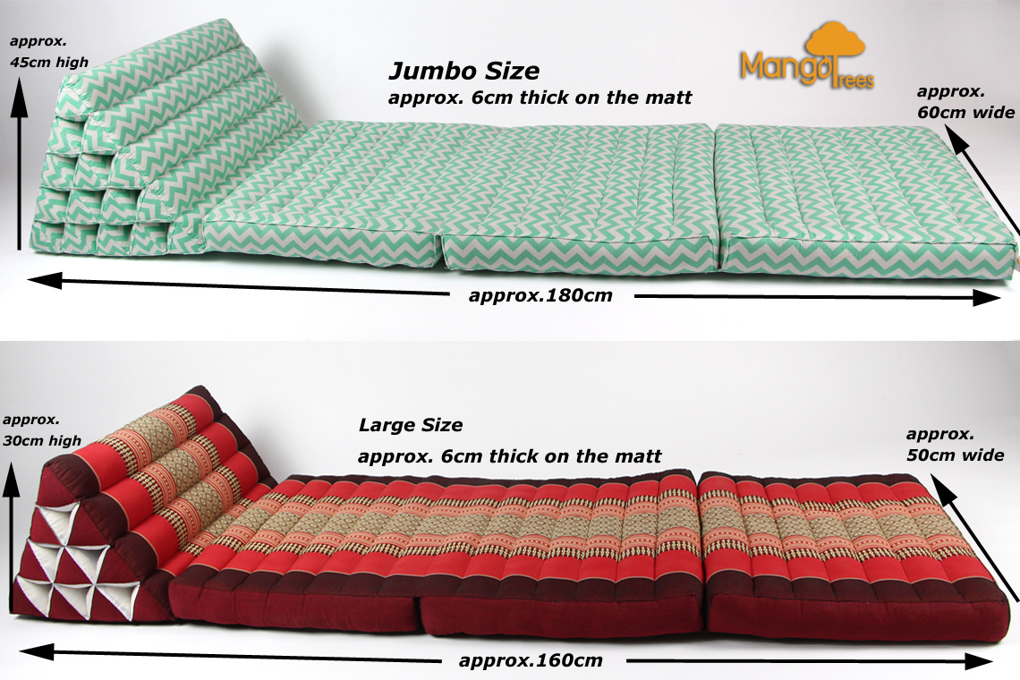 Thai floor beds with triangle head rests - Chiang Mai Forum ...
