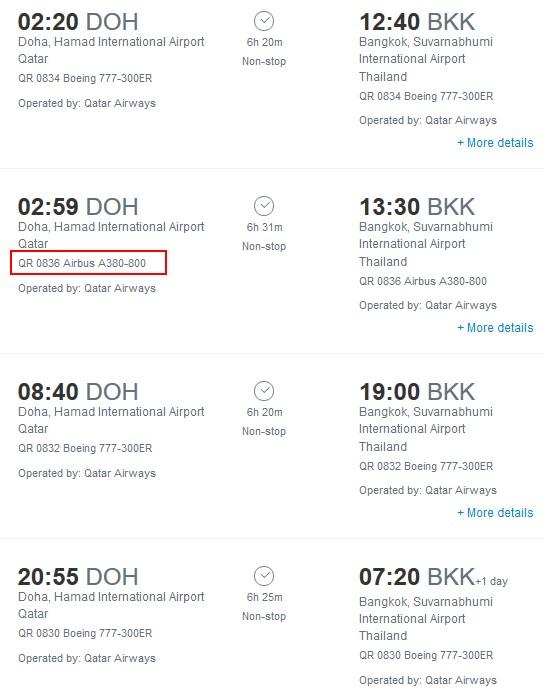 Qatar Airways to Bangkok - Thailand Travel Forum - Thailand Visa