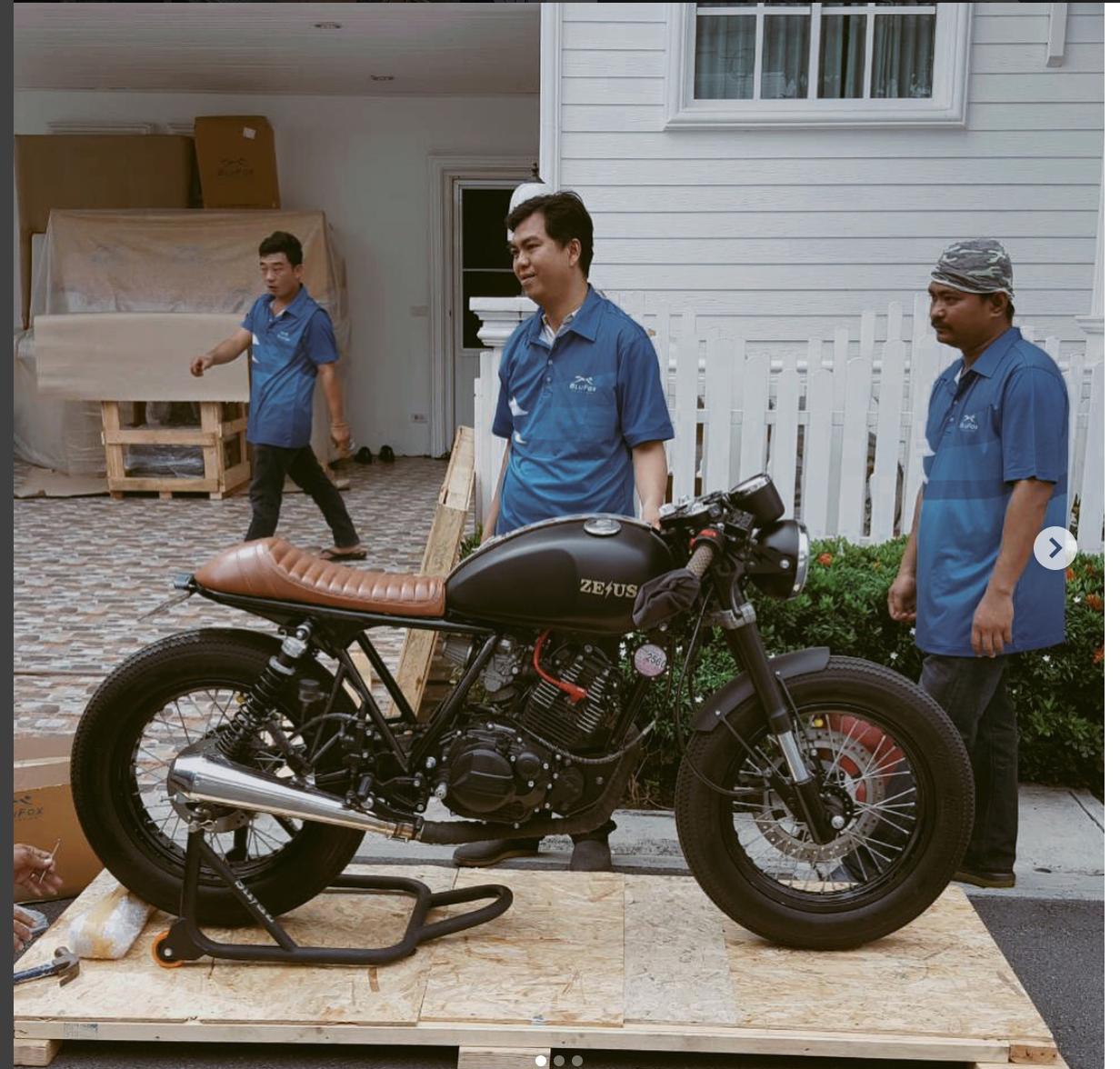 Cafe Racer Bangkok Bikes For Sale In Thailand Visa Suzuki Gn250 Kit Stallion 250