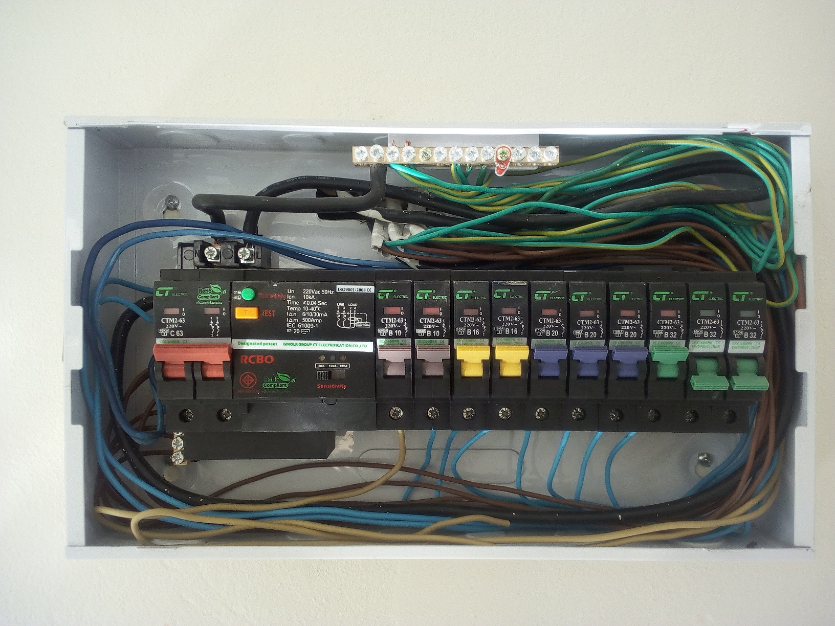 New House - Strange Breaker Box Wiring - The Electrical Forum ...
