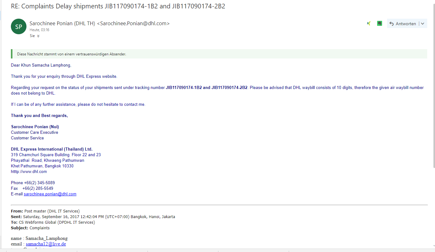 DHL said they delivered but i didnt get the parcel - Page 3