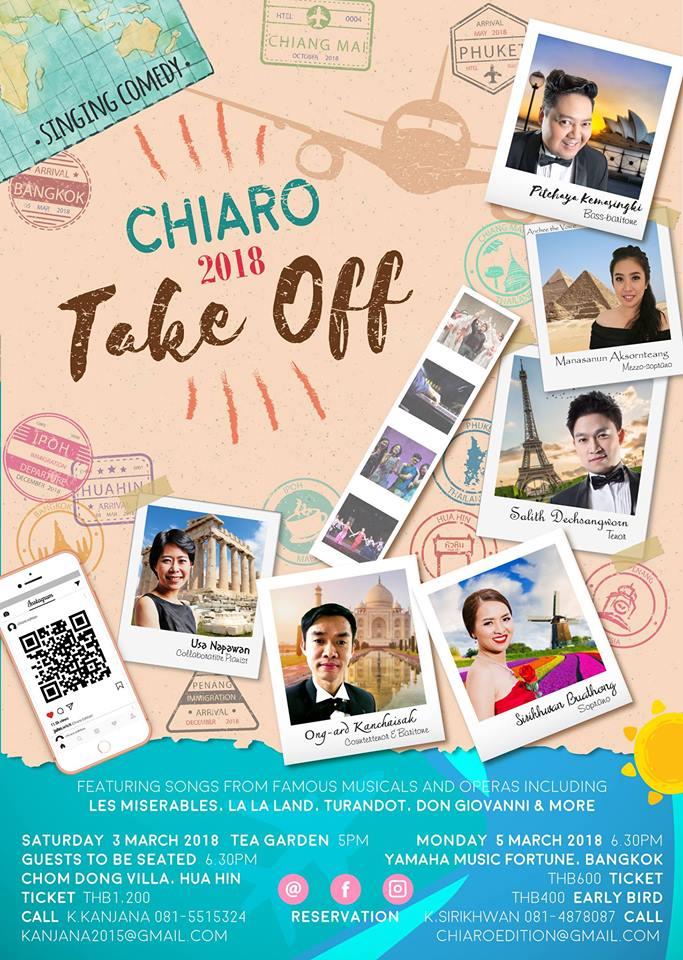 Take Off 2018 @Chom Dong on Saturday 3rd March 2018 - Hua Hin / Cha