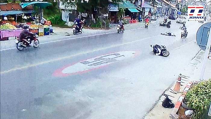 Frenchman killed in motorcycle crash on Samui - Koh Samui