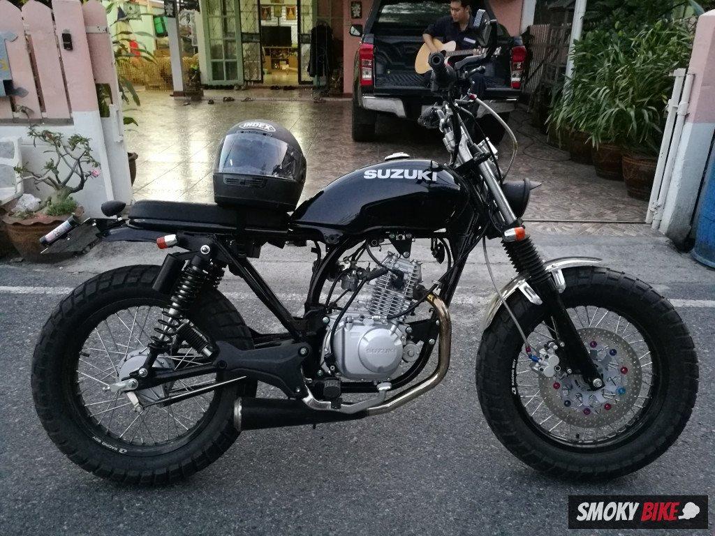 Suzuki GD 110 - a retro m/c made in Thailand for 40,100 THB