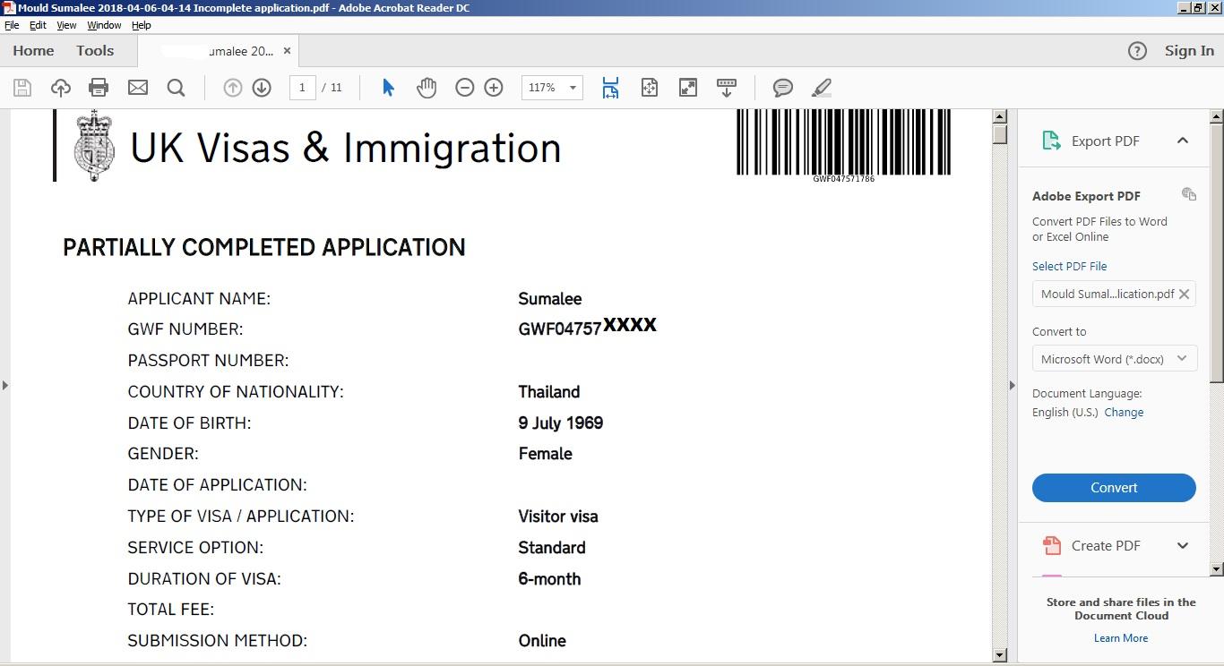 Error on UK visit visa - ignore or take back? - Visas and