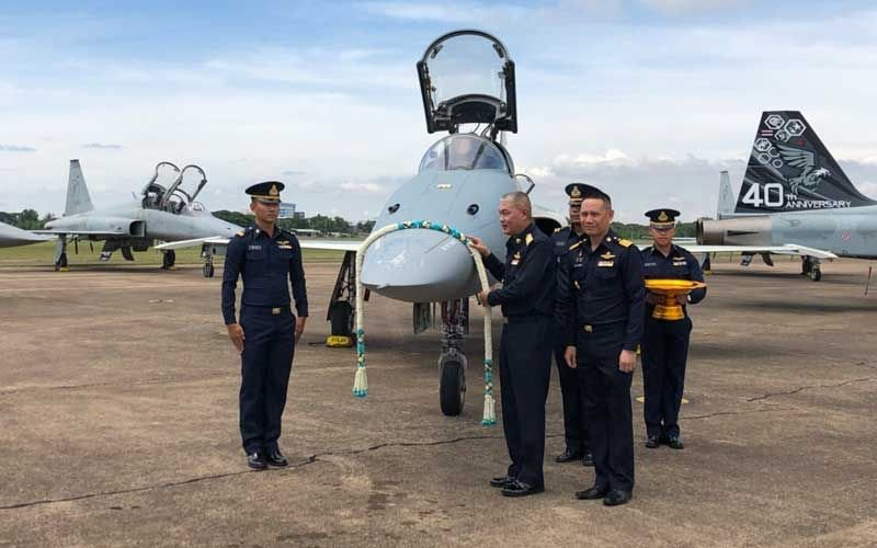 RTAF celebrates 40th anniversary of F5 E/F fighter jet, receives