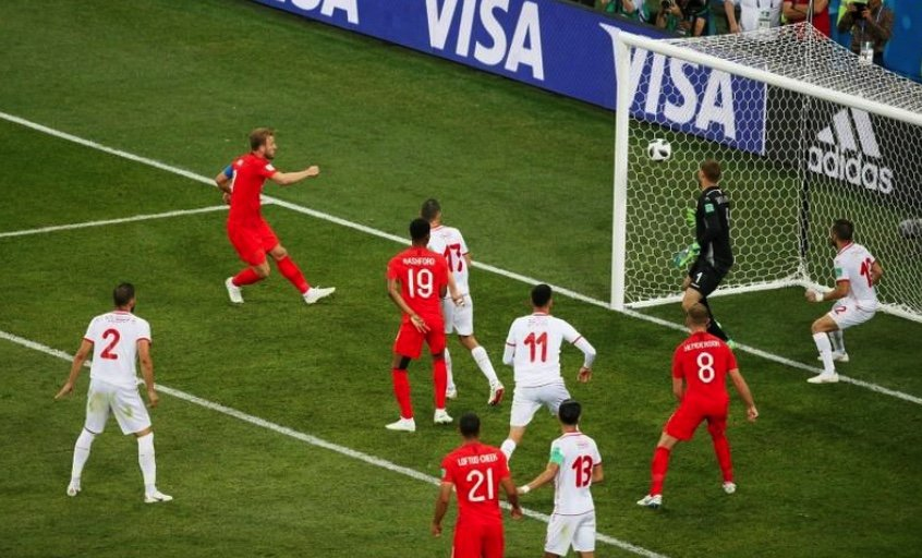 Image result for football and goal post in worldcup