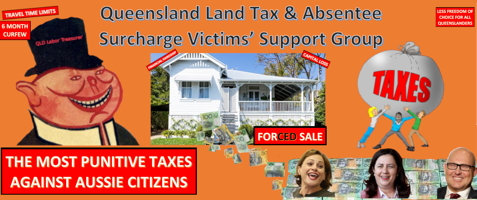 Expats owning property in Queensland Australia - Land tax - Home