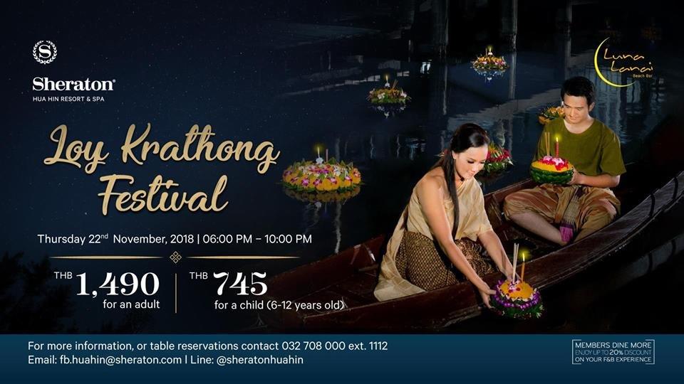 Loy Krathong Festival at Sheraton Hua Hin Resort & Spa ... - photo#45