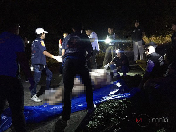 Russian tourist killed as motorcycle falls into ditch on Koh