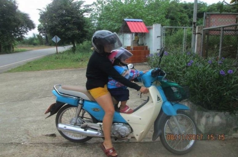 Half Of Thai Parents Wear Helmets – But Only One In 14 Bother To Give Them To Their Kids