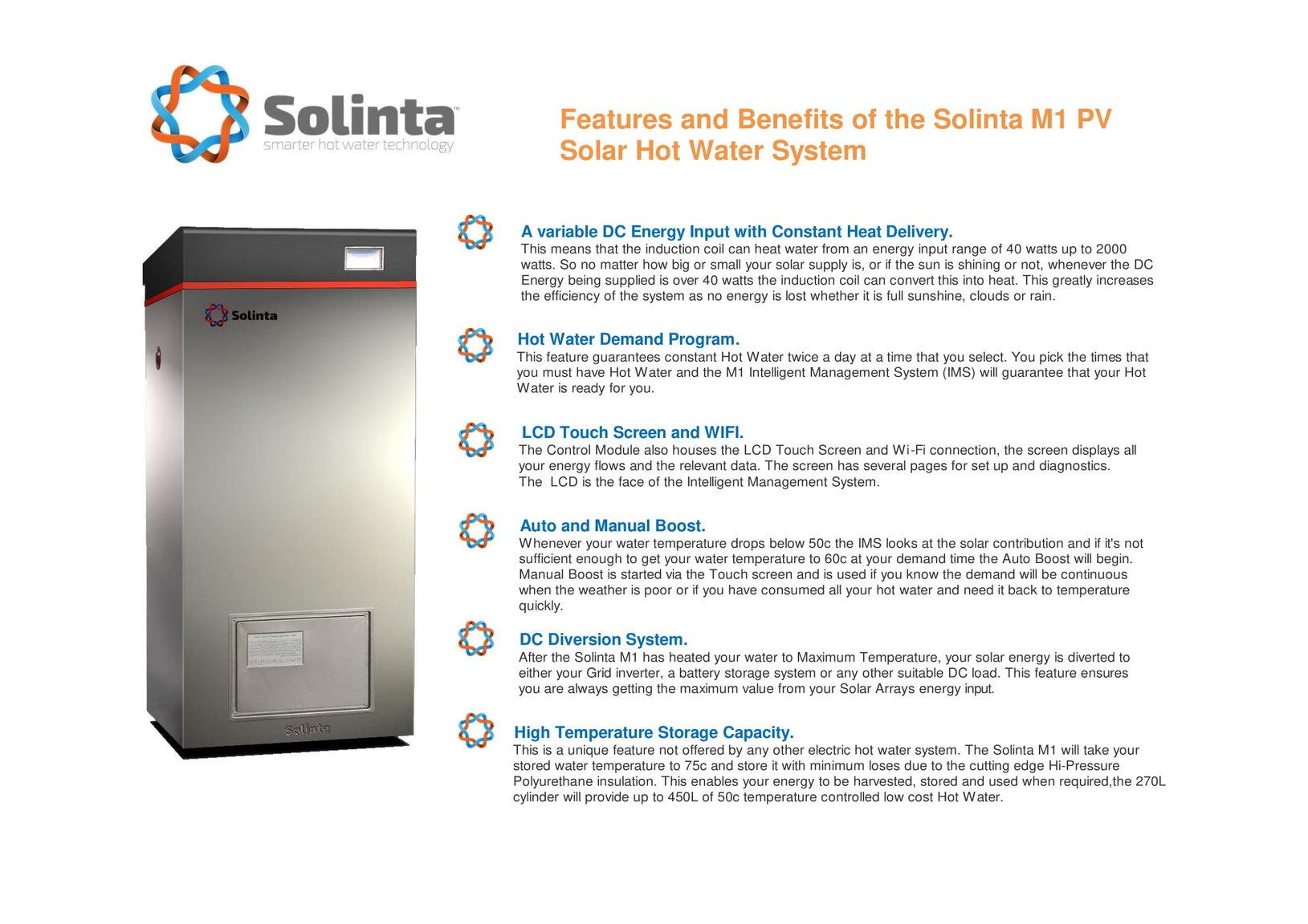 Solinta Solar PV Integrated Hot Water System - DIY housing ...