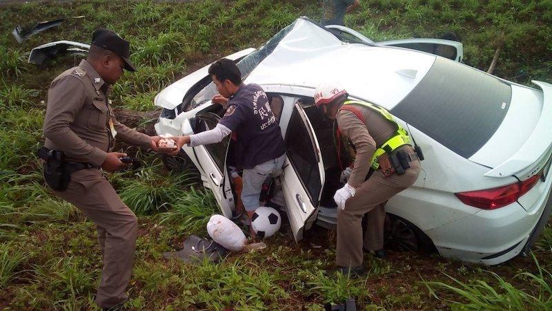 348 Die In Songkran Road Carnage