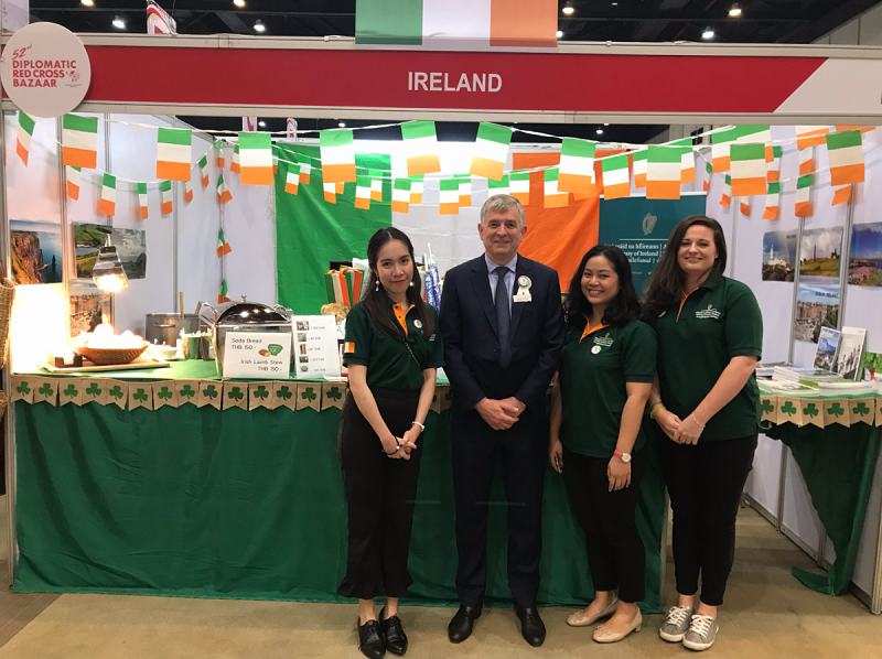 H E  Mr Tony Cotter The Ambassador of Ireland to Thailand - General