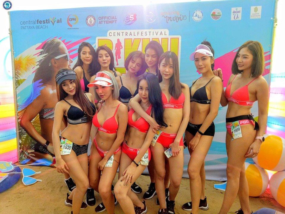 Babes Up Record Light Breaking Pattaya NewsBikini News At Ygvfb67y