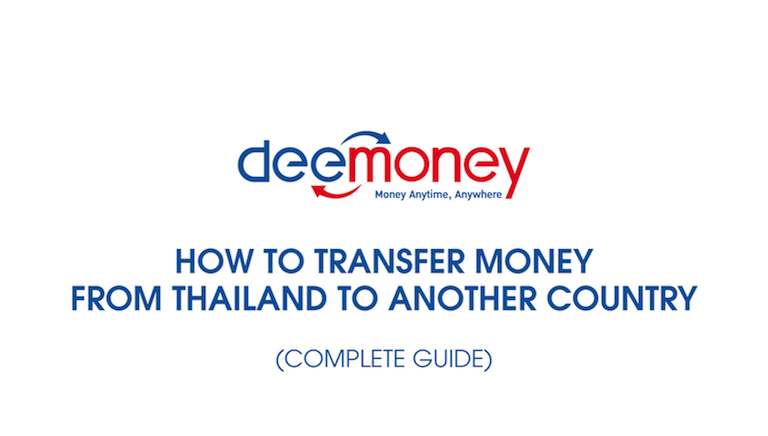 How To Transfer Money From Thailand Another Country