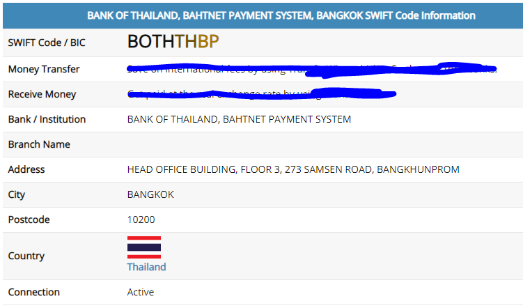 65000 Baht Wire Transfer for Thai Retirement Visa (Failure and Scam
