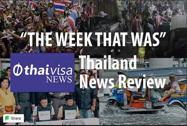 Thailand News: The week that was in Thailand news: The moaner on the