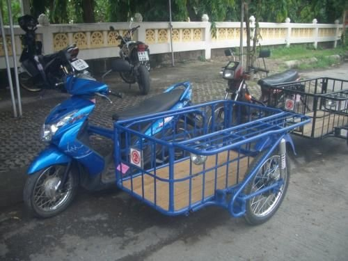 Custom Sidecar for Honda 125 - Motorcycles in Thailand