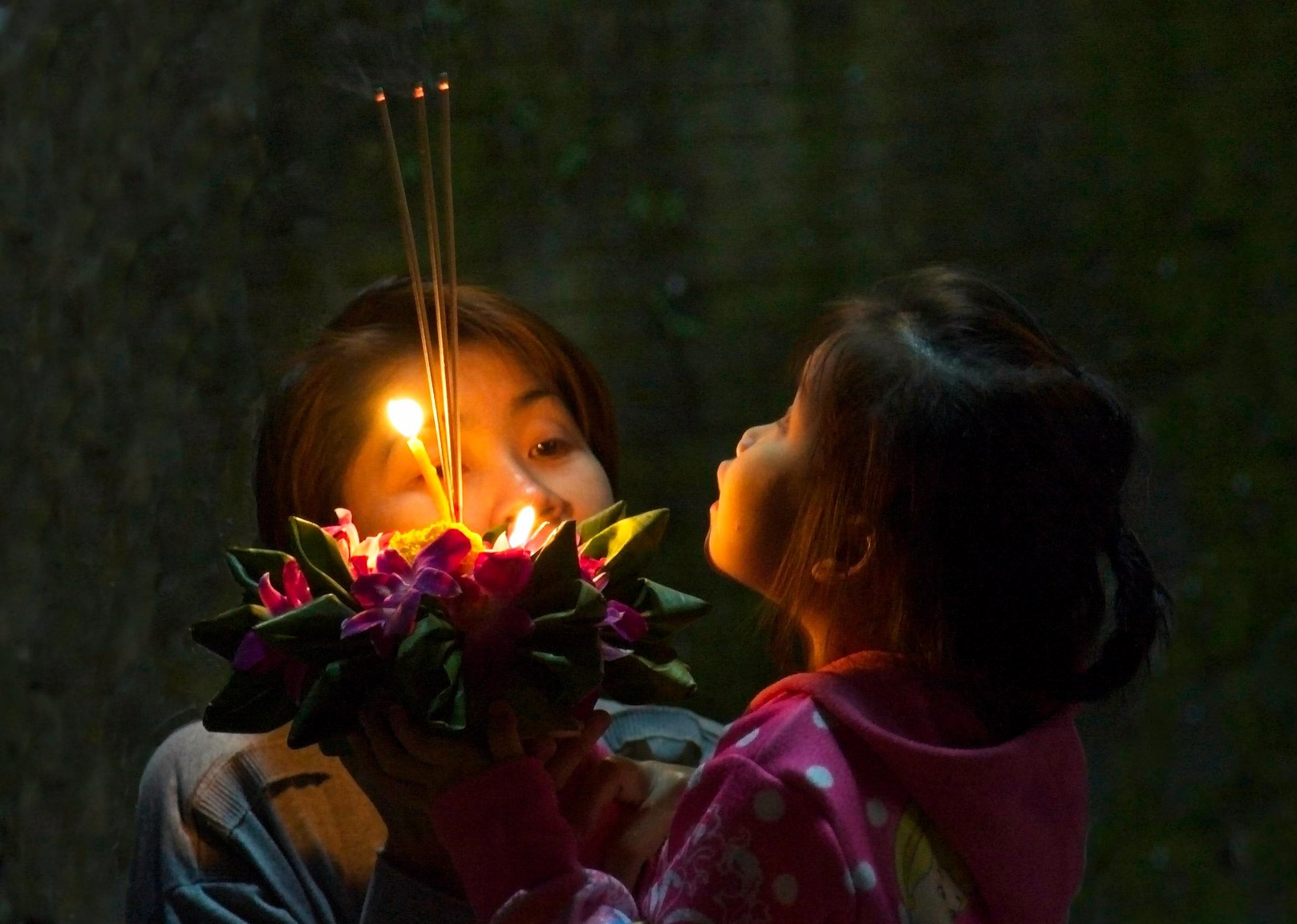 Mother and Daughter Celebrating Loy Krathong.jpg