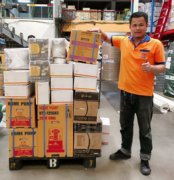 Lazada Thailand Delivery Buriram ITC water pumps July 2020.jpg