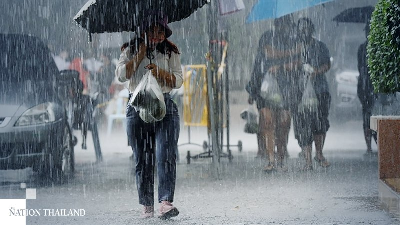 Thundershowers, Isolated Heavy Rain Forecast For Most Parts Of Thailand