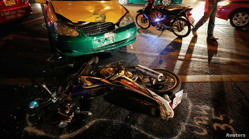 New Year Road Carnage: Nearly 400 Dead – North Of Thailand Worst For Accidents/Fatalities